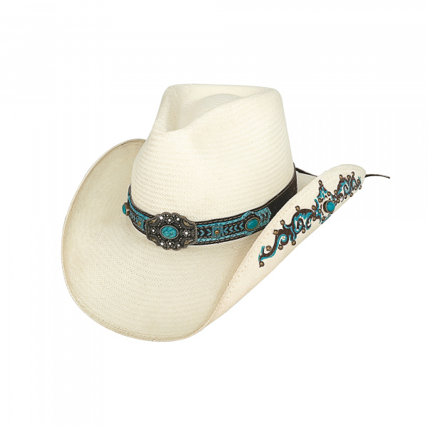 Chapeau Cowboy Rattlesnake Marron - Traclet