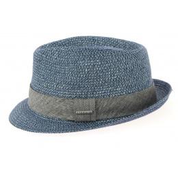 Trilby Hat Reidton Blue Toyo- Stetson
