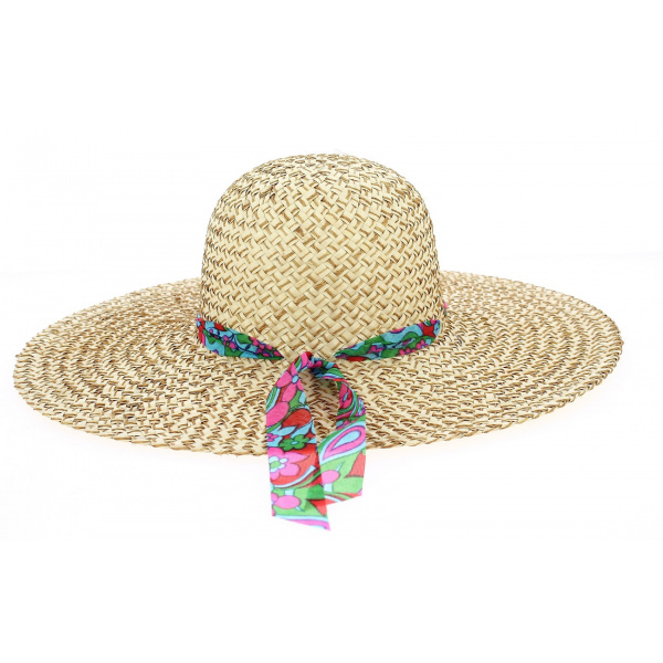 SummerTime Natural Straw Capeline - Traclet
