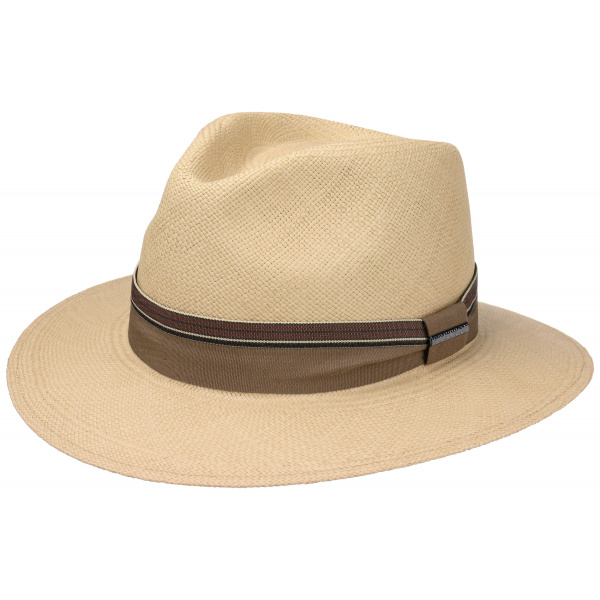Chapeau Traveller  Rushworth Panama Naturel - Stetson