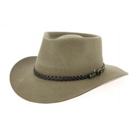 Chapeau feutre poil Stockman - Akubra