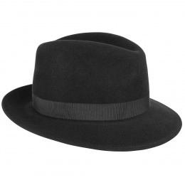 Tino Black Trilby Bailey hat