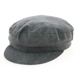 Casquette Marin Chantepie Coton Grise- Traclet