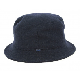 Hat Bob Twill Navy Blue - Qhuit