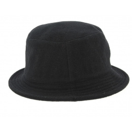 Hat Bob Rubber Black- Qhuit