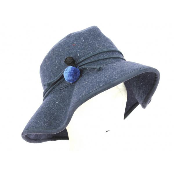 Capeline Onata Bleu Marine Coton- Mtm