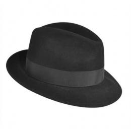 Chapeau Fedora Blixen Noir-Bailey