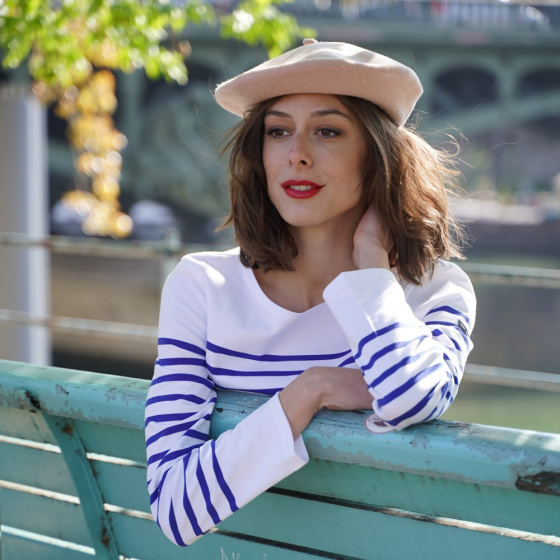 The French Beret - Pink Powdered Beret