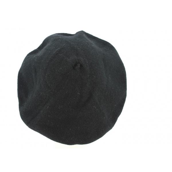 Béret Cachemire Noir ou Gris- Traclet