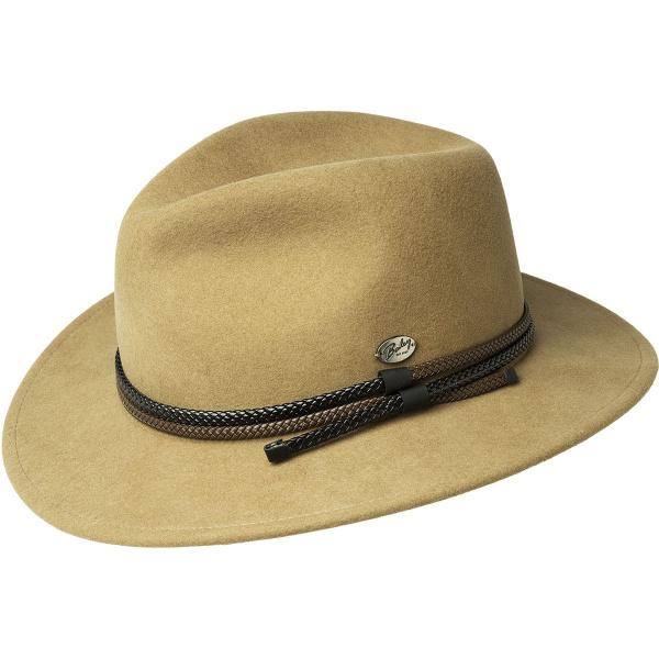 Chapeau Fedora Nelles Feutre Laine Camel- Bailey
