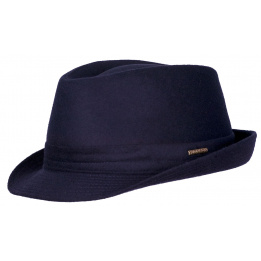 Chapeau trilby Benavides Wool marine - Stetson