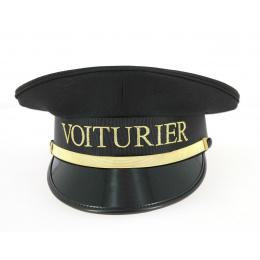 Casquette Voiturier Noir & Doré- Traclet