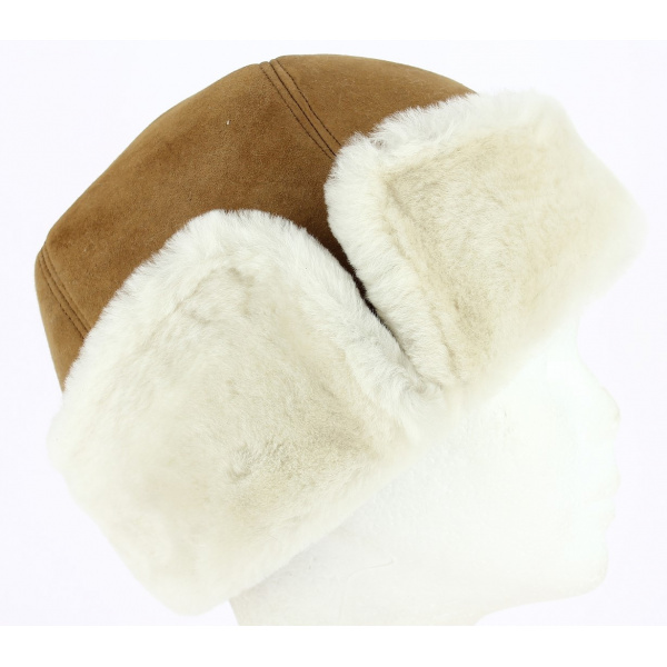 Toque / Chapka Cossak Mouton Camel- Traclet