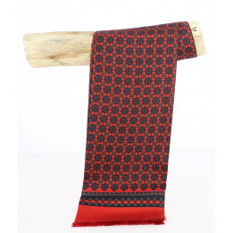 Red Silk Scarf - Traclet