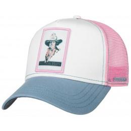 Trucker Girls Cap Rose- Stetson