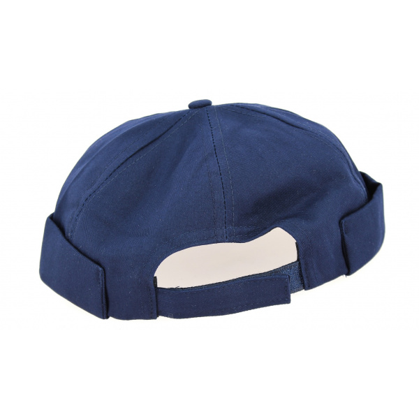 Bonnet Docker Coton Marine- Traclet