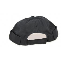 Bonnet Docker Coton Noir Triskel- Traclet