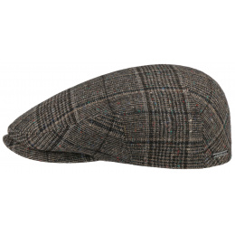 Casquette plate Kent Houndstooth - Stetson