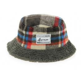 Marker Pen Reversible Bucket Hat Blanc