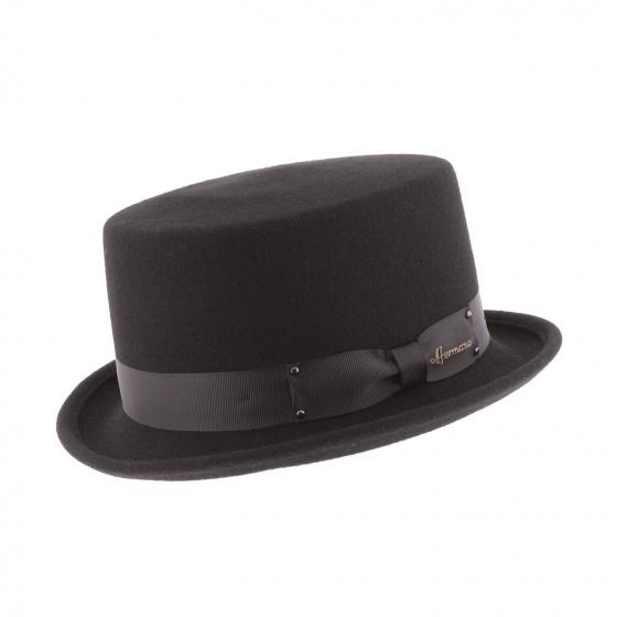 Don Vegas Half Top Hat Black- Herman