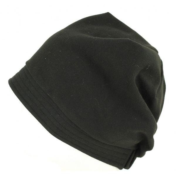 Turban chimiotherapie noir
