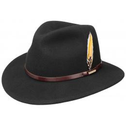 Chapeau Traveller Austin vitafelt Noir  - Stetson