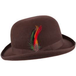 Chapeau melon English Derby Marron  - Jaxon