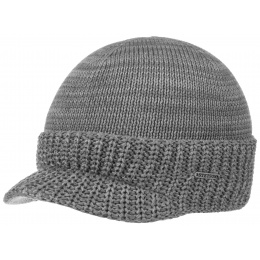 Grey Cotton Cap- Stetson