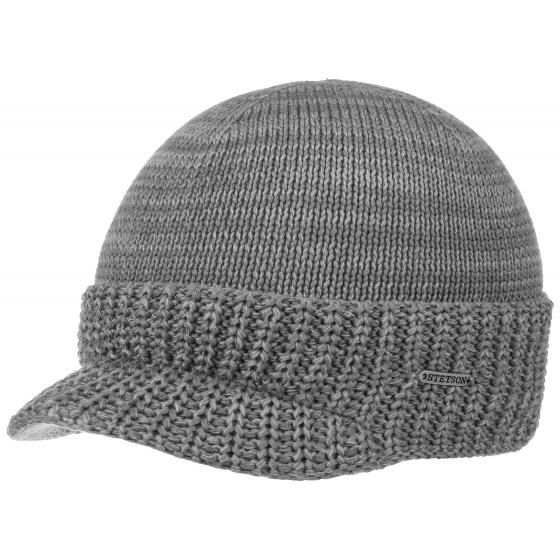 Grey Cotton Cap- Stetson