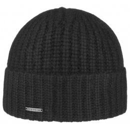 Bonnet Cachemire Deluxe Noir- Stetson