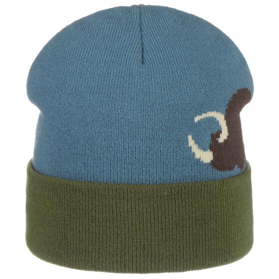 Stetson Bonnet Coton /à Revers Bleu Marine