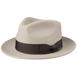 Fedora Beige Wool & Cashmere Hat - Stetson