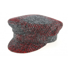 Camaret Cap Anan Red & Anthracite- Traclet