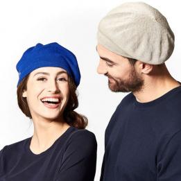 Béret Belza Coton Bleu- Héritage par Laulhère
