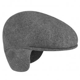 Casquette cache-oreilles Anthracite - Kangol