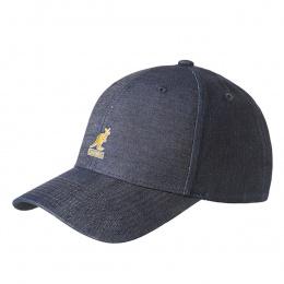 Blue Denim Baseball Cap - Kangol