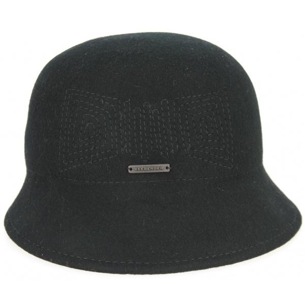 Fleece hat woman grey