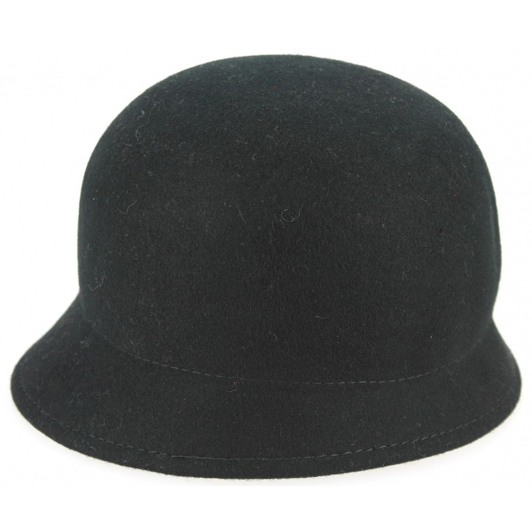 Fleece hat woman grey