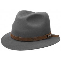Traveller Hat Felt Grey Hair - Stetson