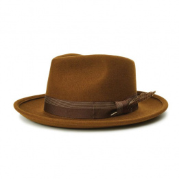 Chapeau Fedora Swindle Marron - Brixton