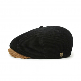 Casquette Brood Velours Marron & Noir- Brixton