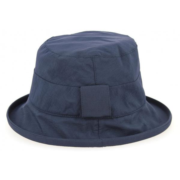 Chapeau Cloche de Pluie Simone Bleu Marine- Seeberger