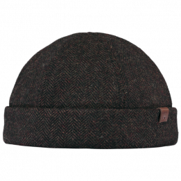 Bonnet Docker Mainz Laine Marron- Barts