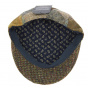 Casquette Plate Foresta Patchwork Harris Tweed Laine- Traclet