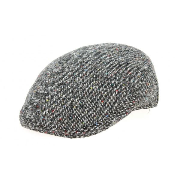 Casquette Plate Tabiano Tweed Laine - Traclet