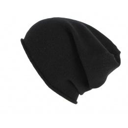 Bonnet Cachemire Noir- Traclet