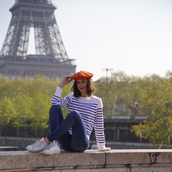 Béret Classique Citrouille- Le Béret Français