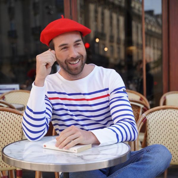 The Classic Red French Beret- Le Béret Français