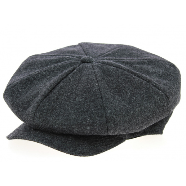 Casquette Irlandaise Newry Laine Anthracite- Traclet