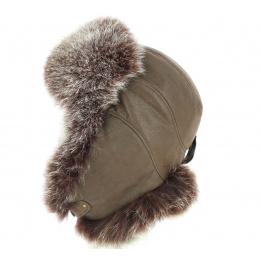 Chapka / Verona Leather &  Fox - Traclet